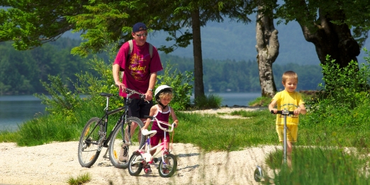 Biking in Bohinj